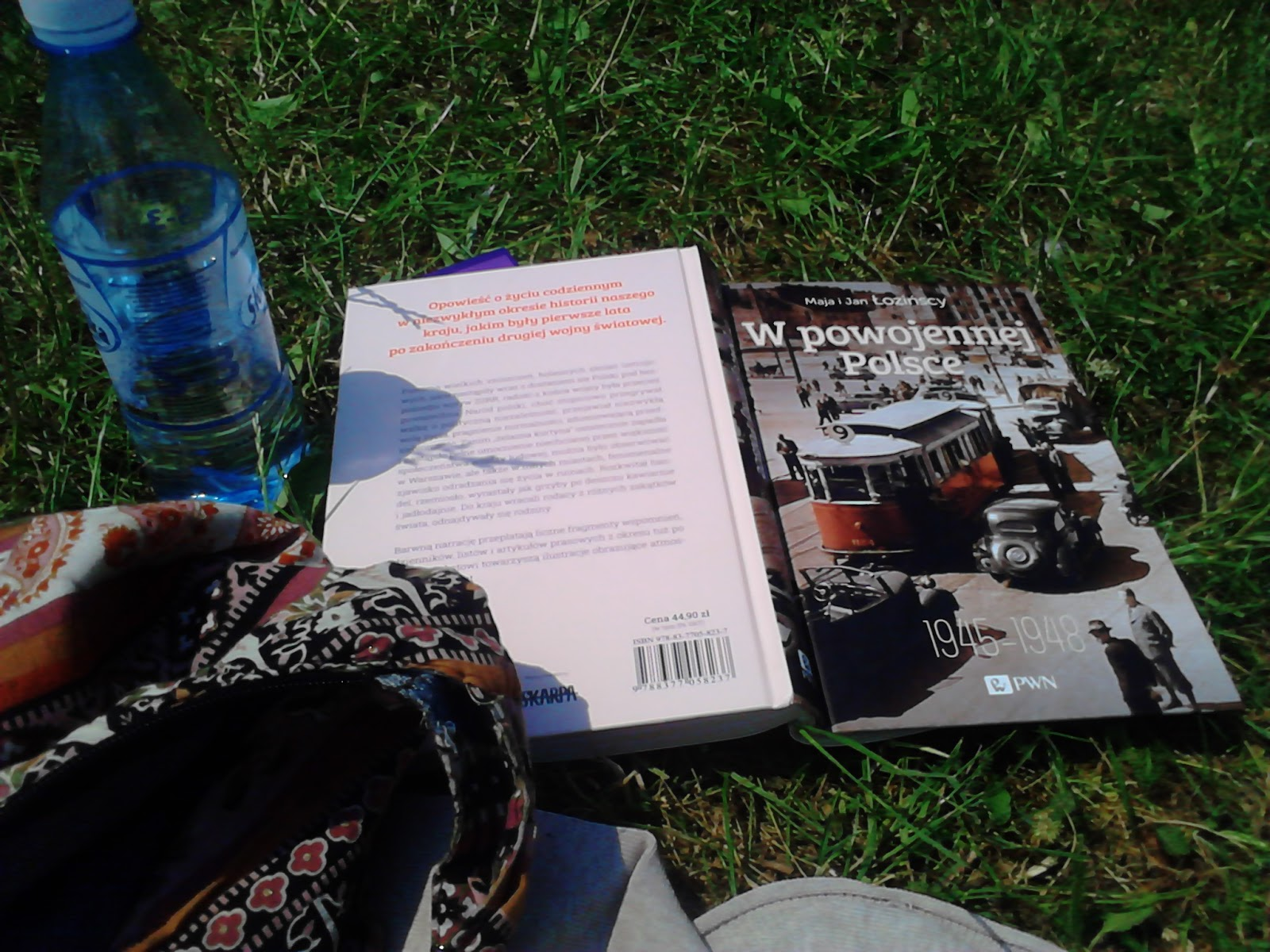 Gdzie czytam - park