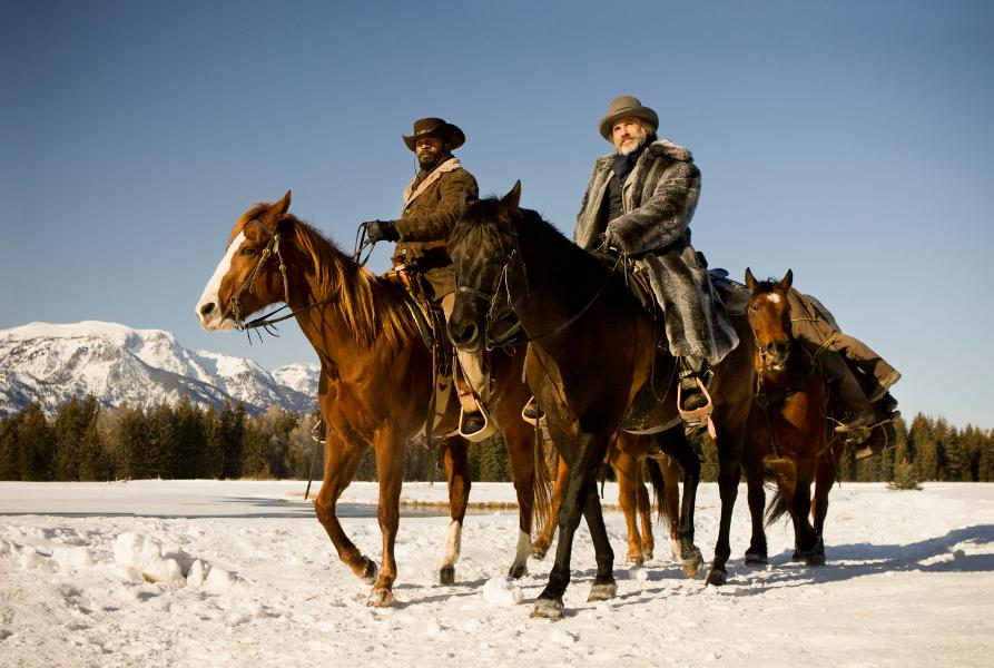 """Django"" reż. Quentin Tarantino - Jamie Foxx i Christoph Waltz"