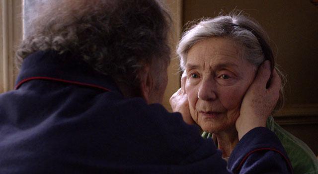 """""""Miłość"""" reż. Michael Haneke - Emmanuelle Riva - Oskar za najlepszą rolę kobiecą"""