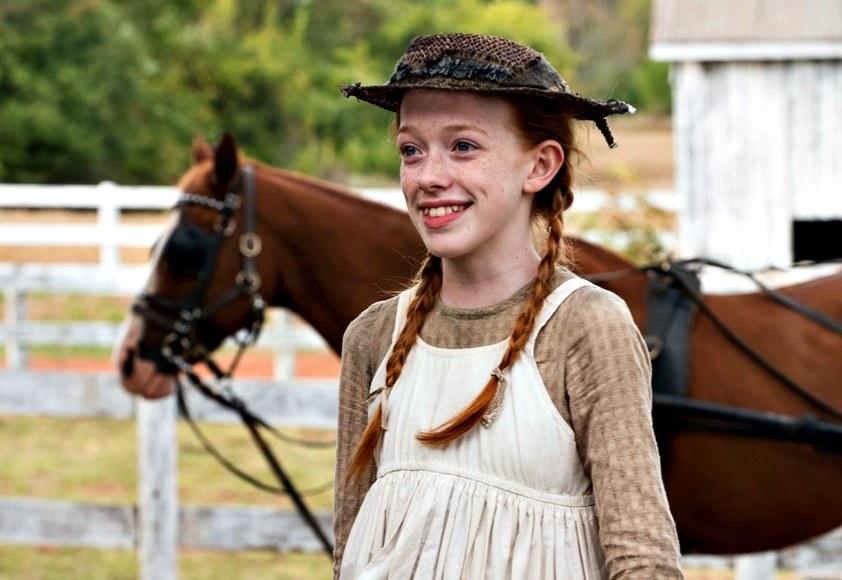Ania, nie Anna - serial Netflix - Amybeth McNulty jako Ania Shirley