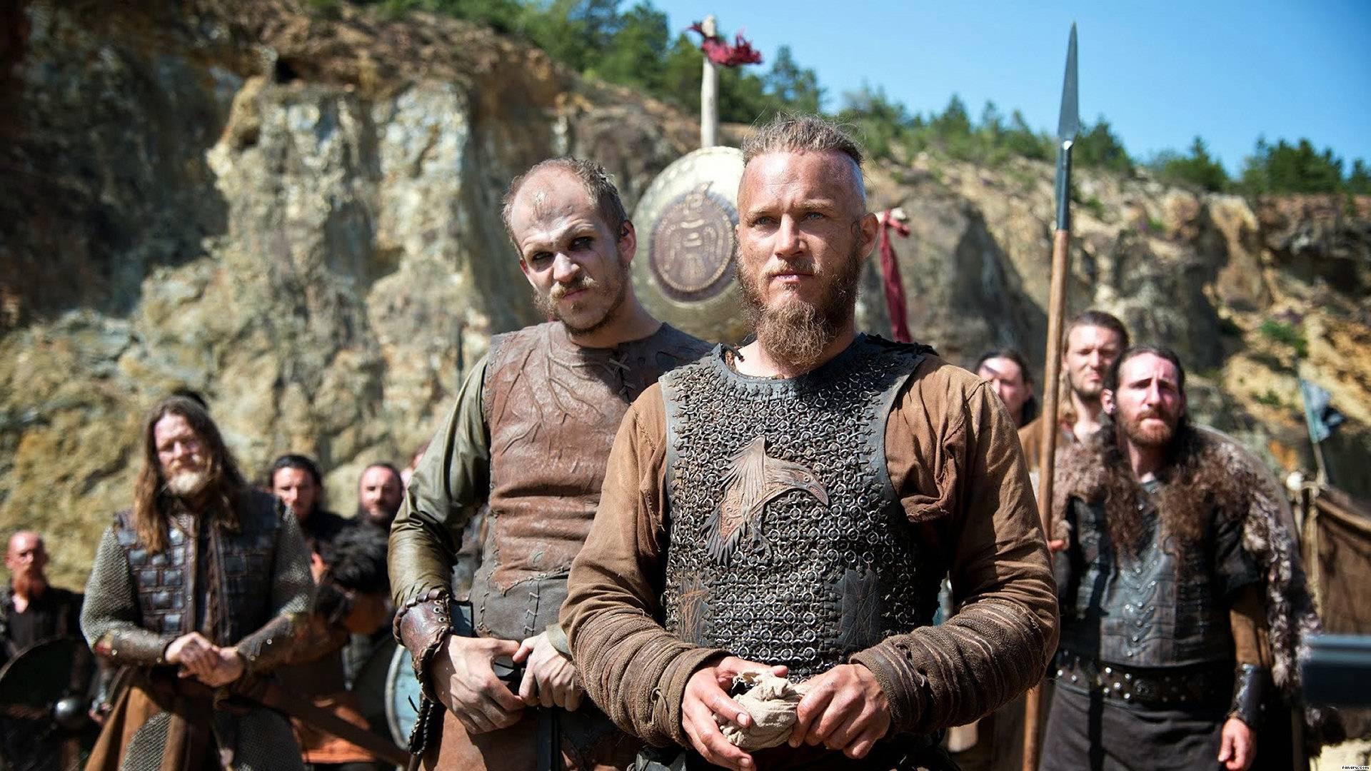 Wikingowie - serial History - Ragnar i Floki