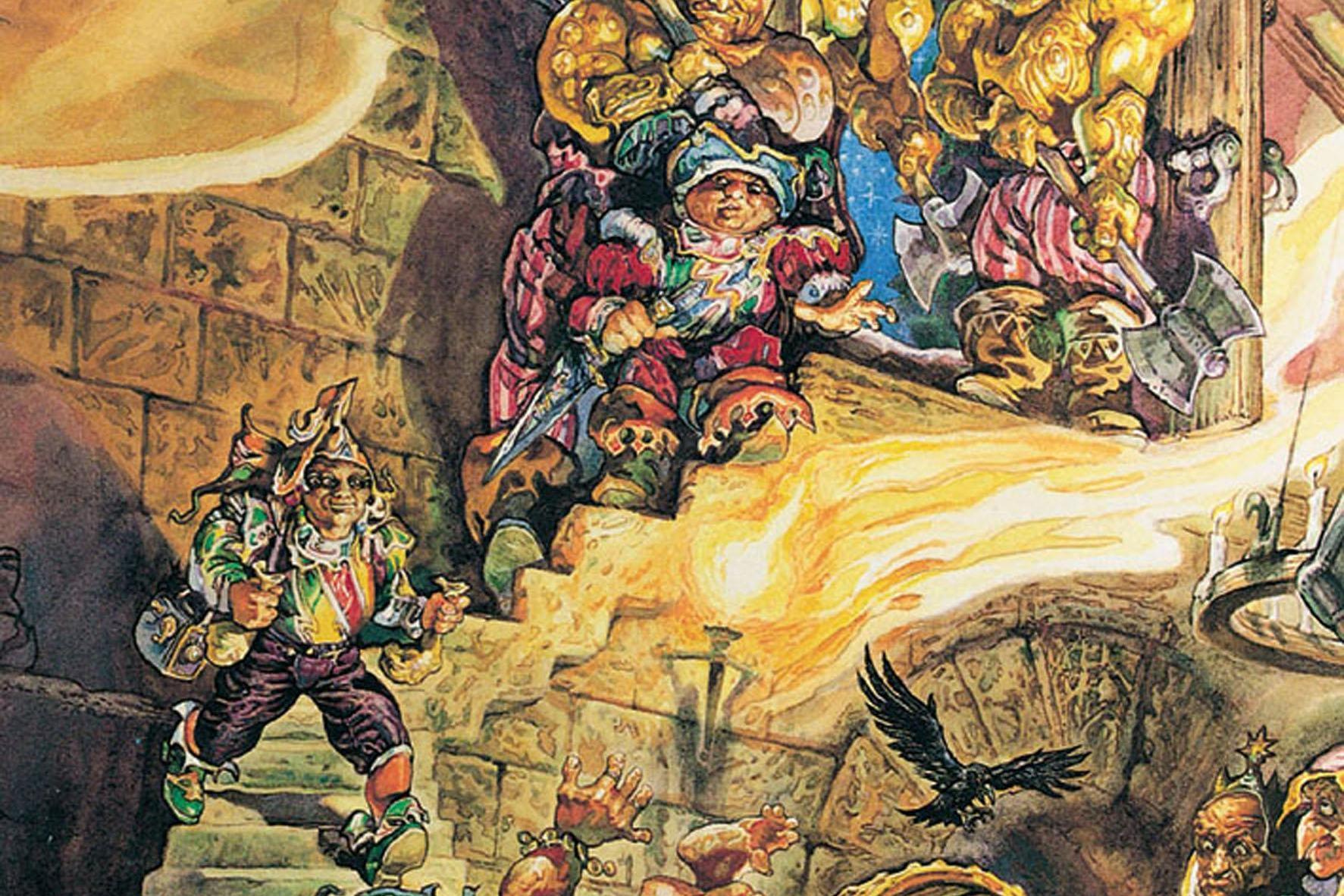 Kolor Magii, Terry Pratchett