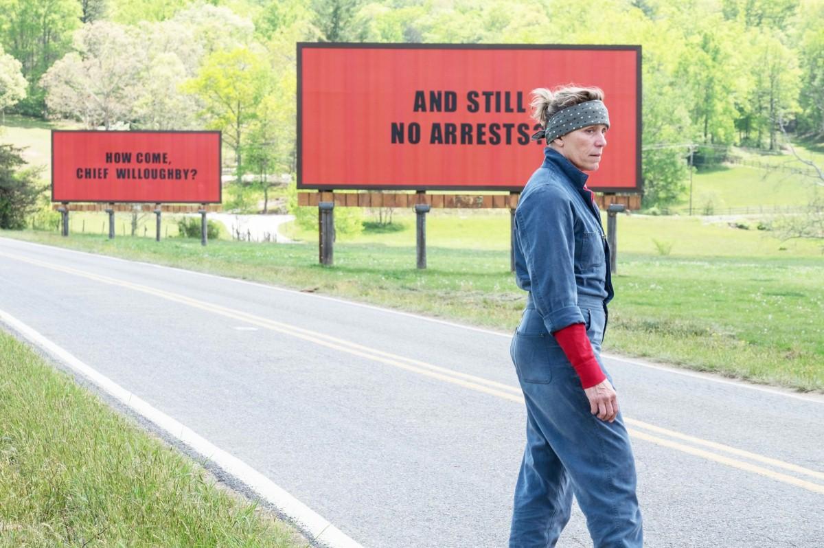 """Trzy billboardy za Ebbing, Missouri"" reż. Martin McDonagh"