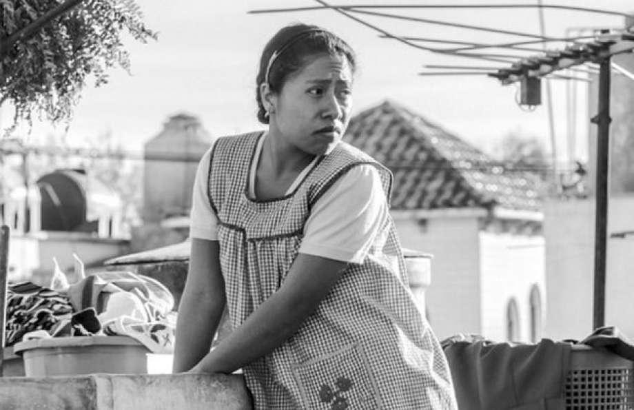 """Roma"" reż. Alfonso Cuaron, Yalitza Aparicio jako Cleo"