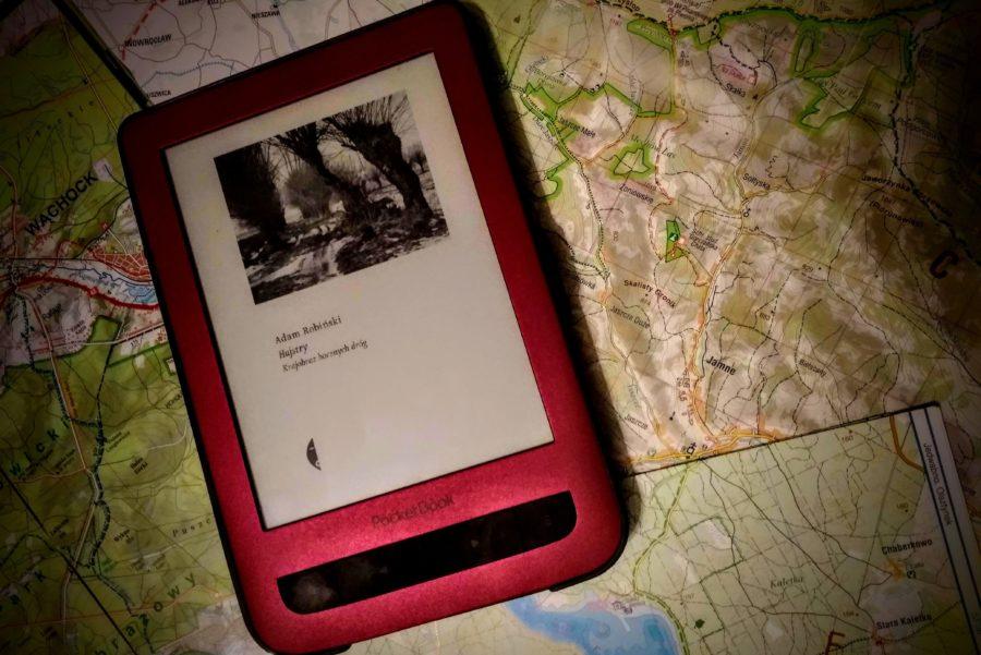 Hajstry. Krajobraz bocznych dróg, Adam Robiński, Wydawnictwo Czarne; Czytnik Pocketbook Touch Lux 3