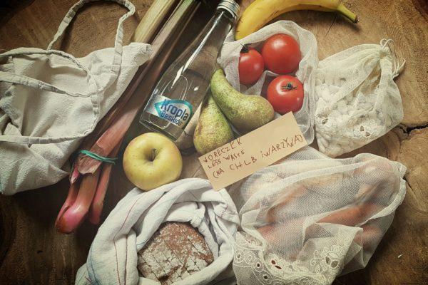 Zero waste - woreczki na warzywa i owoce