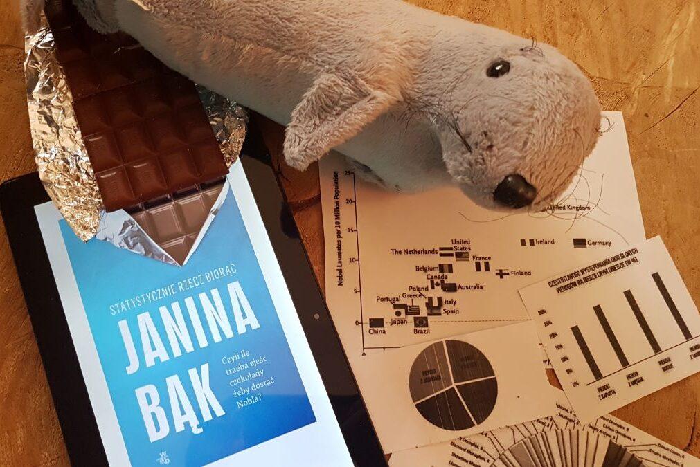 """""""Statystycznie rzecz biorąc"""" - Janina Bąk - Wydawnictwo WAB"""
