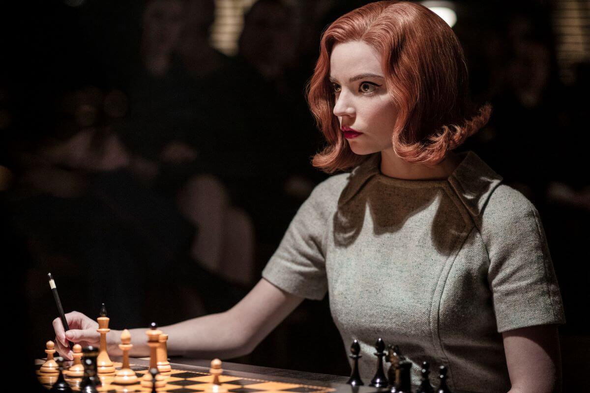 """Gambit Królowej"" - serial Netflix - Anya Taylor-Joy jako Beth Harmon"