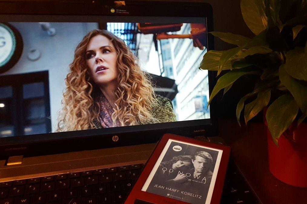 """""""Od nowa"""" - serial HBO, adaptacja powieści Jean Hanff Korelitz, Wydawnictwo Poradnia K"""